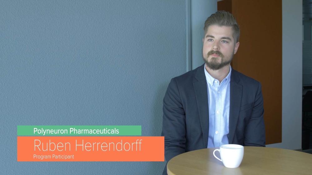 Ruben Herrendorff, CEO Polyneuron Pharmaceuticals