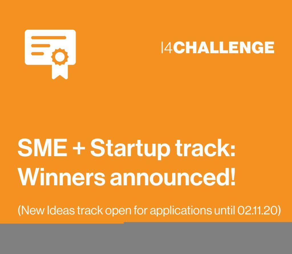 Six companies win the i4Challenge