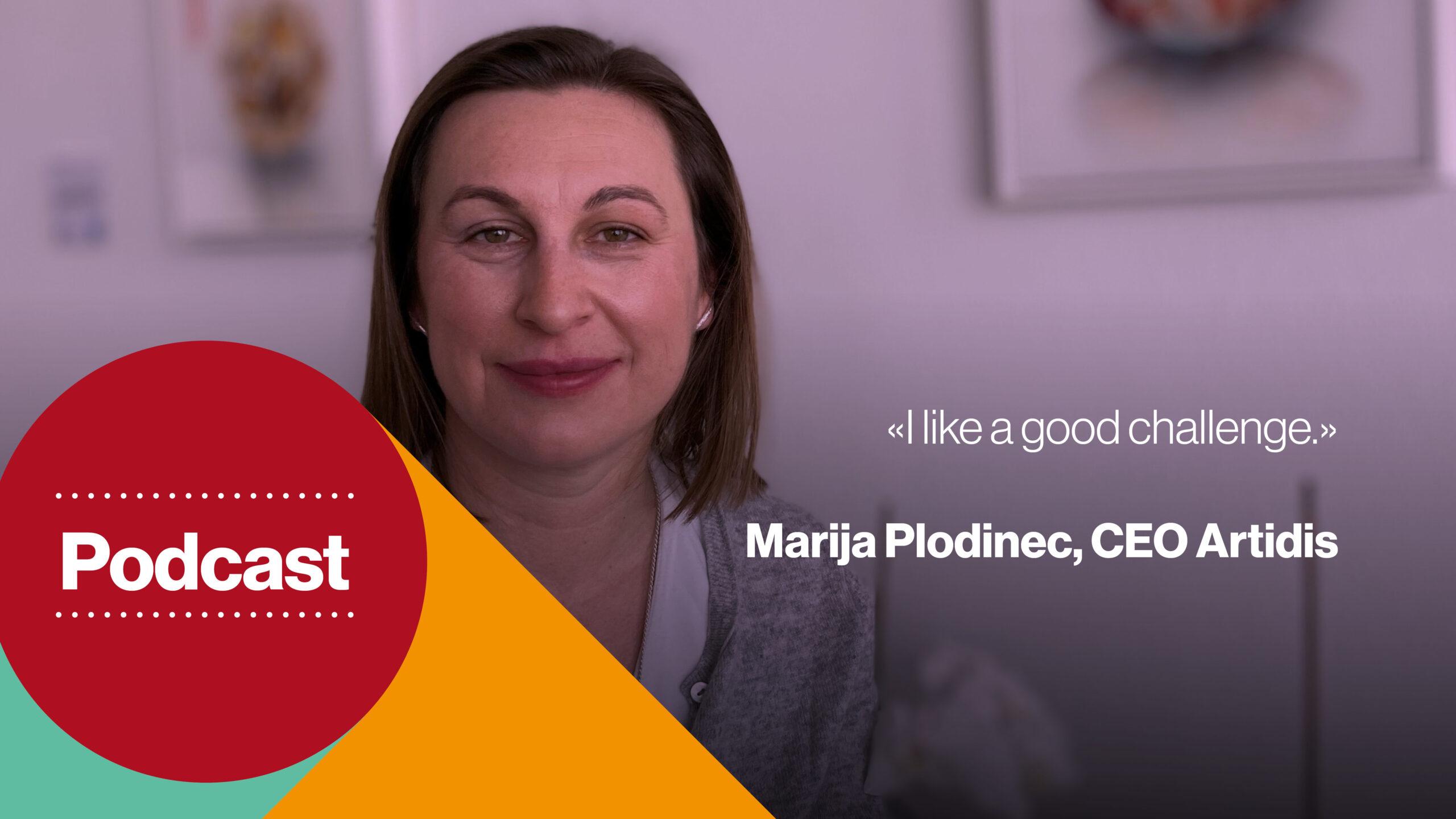 Marija Plodinec, CEO Artidis
